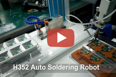 H352 Automatic Soldering Robot