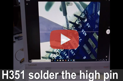 H351 automatic soldering robot application video